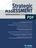 Institute for National Security Studies di Tel Aviv - New Strategic Assessment - July 2010