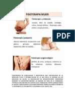 Fisioterapia y Ginecologia