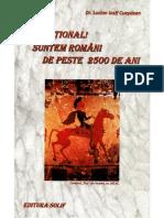 224703217 Senzaţional Suntem Romani de Peste 2500 de Ani Dr Lucian Iosif Cueşdean