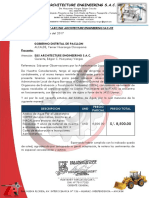 Carta de Cotizacion Pacllon