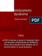 8.7.09 Pillinger Myelodysplastic Syndrome