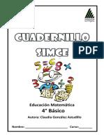 Cuadernillo SIMCE 4 Alumno