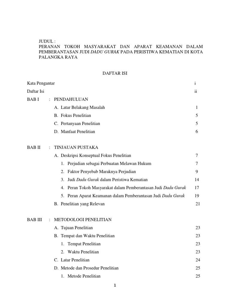 Contoh Bab Iii Proposal Penelitian Kualitatif Docx