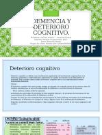 Demencia y Deterioro Cognitivo 1