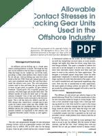Offshore jack ups