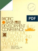 Pacific Basin Development Conference