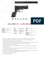Ruger Security 9 Spec Sheet