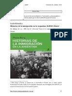 HistoriasDeLaInmigracionEnLaArgentinaBJERGMaria