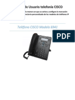 Manual de Usuario Telefonía CISCO 6941
