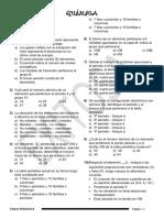 ejercicios Tabla Periodica