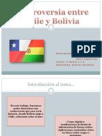 Controversia Entre Chile y Bolivia 1