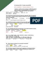Preguntas Del Examen Senescyt 2014