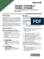 Honeywell Humidity Sensor