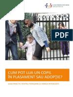 Cum Pot Lua in Plasament Sau Adoptie Un Copil(1)
