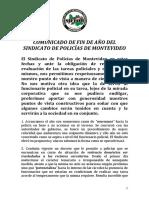 Evaluacion 2017 Sindicato Policial