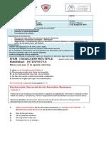 Evaluación Convivivir en Sociedad 5tos Basicos (1)
