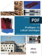 Pratique Du Calcul Sismique - Guide d'Application de l'Eurocode 8