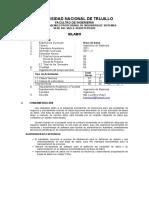 Silabo de Base de Datos 2011-II Imprimir