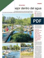 Reportaje Zona de Baño del Rio Tormes - Puente del Congosto