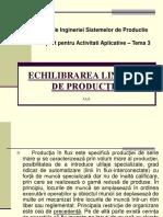 Tema 3 - Bazele ingineriei si sistemelor de productie