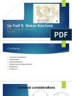 Le Fort II, Linear Fracture01