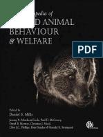 Applied Animal Behaviour & Welfare