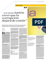 «Es una ilusión creer que la corrupción dejará de existir».  Entrevista con Sergio Moro por Cleide Carvalho. El Comercio (GDA).pdf
