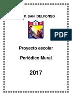 Proyecto Escolar Periódico Mural