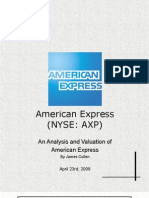 American Express (AXP) Stock Report