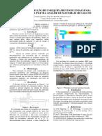 Projeto e Construção de Um Equipamento de Ensaio Para Desgaste Erosivo. Parte 1- Análise de Materiais Metálicos