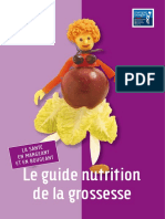 guide nutritionnel de la grossesse