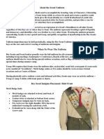 BSA Scout Uniform