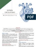 Monografía - Sistema Circulatorio