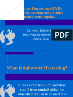 Presentation Rainwater St