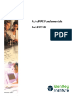 AutoPIPE V8i Fundamentals TRN012310 1 0007