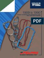Felpro 1909 to 1990