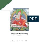 Chandrakirti the Sevenfold Reasoning