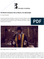 Gerardo Pignatiello - The Western Unchained_ Hell on Wheels y the Hateful Eight (Revista Invisibles)