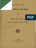 Asociación Patronal de Exportadores de GC. Memoria 1925-1927