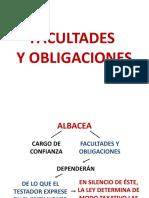 PRESENTACION FACULTADES Y OBLIGACIONES DEL ALBACEA