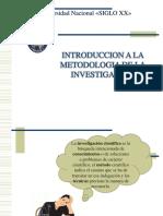 Capitulo I Introducción a La Metodología de La Investigación