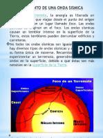 Ecuacion de Movimiento de Una Onda Sismica y