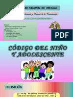 Código Del Niño y Adolescentee