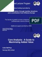 Core Analysis Presentation Final v3 Part 1
