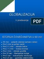 V Predavanje Globalizacija