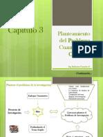 Planteamiento Del PROBLEMA CUANTITATIVO Y Objetivos