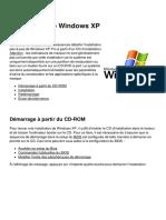 Installation de Windows Xp 5120 l23ia4