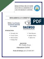 Caso Practico Daewoo