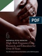 High-Risk Pregnancy Care