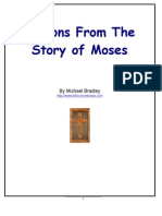 Lessons From the Story of Moses